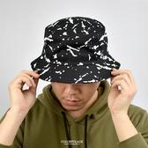 漁夫帽 隨性休閒潑墨風格NHD32