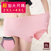 女性 MIT舒適 超加大尺碼內褲 (40-46吋腰圍可穿) 孕媽咪大尺碼 2XL-3XL-4XL 台灣製造 No.1106-席艾妮SHIANEY