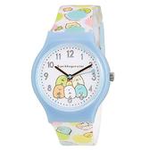 【角落生物可愛手錶】角落生物 高質感 可愛 手錶 藍白色 日本正版 該該貝比日本精品 ☆