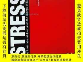 二手書博民逛書店STRESS罕見The International Journal on the Biology of Stres