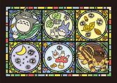 【拼圖總動員 PUZZLE STORY】龍貓的消息 日本進口拼圖/Ensky/宮崎駿/208P/透明塑膠