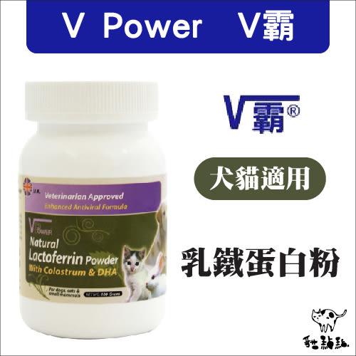 :貓點點寵舖: 英國V Power〔V霸,乳鐵蛋白粉,100g〕325元