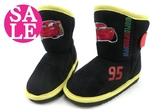 閃電麥坤童靴 鬆緊帶大開口 橡膠防滑休閒靴 雪靴 K8004#黑 奧森童鞋~ 零碼出清