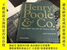 二手書博民逛書店Henry罕見Pool&Co.亨利普爾公司 薩維爾街的第一位裁縫