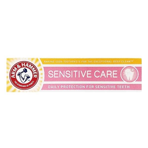 英國進口 ARM & HAMMER 小蘇打牙膏 Sensitive Care 敏感款 125g