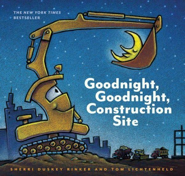 【麥克書店】GOODNIGHT GOODNIGHT CONSTRUCTION SITE /英文繪本附CD