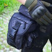 戰術腿包多功能特種兵騎行機車綁腿包帶水壺運動掛腰包 時光之旅