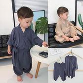 童裝嬰兒夏裝1-3歲家睡衣外出小和尚服套裝