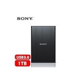[NOVA成功3C]Sony HD-S1A 黑色 1TB USB3.0 2.5吋超薄型行動硬碟  喔!看呢來