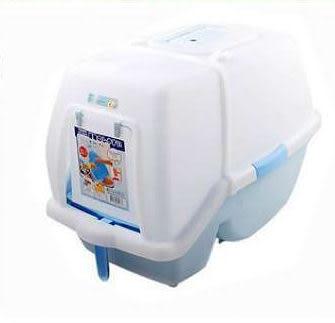 【zoo寵物商城】阿曼特抗菌方便清掃貓砂盆AMT-630 肥貓也可以用 送逗貓棒