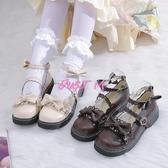 娃娃鞋女日系原創果泡甜心洛麗塔軟妹jk小皮鞋女蘿莉娃娃鞋 交換禮物