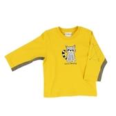 ~愛的世界~純棉圓領小浣熊長袖上衣1 歲 製 上著