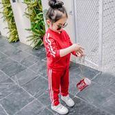運動套裝女童秋裝休閒運動衣 新主流