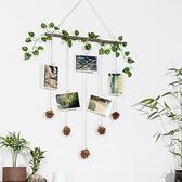 牆壁裝飾掛件房間臥室壁掛創意植物掛飾餐廳幼兒園牆面牆上裝飾品 ATF 夏季新品