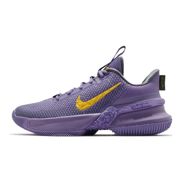 Nike 籃球鞋 LeBron Ambassador XIII 13 紫 黃 湖人隊 男鞋 大使 十三代 【ACS】 CQ9329-500