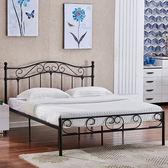 床架 歐式現代簡約鐵藝床臥室公寓雙人鐵床1.5兒童單人鐵架床1.2米igo 傾城小鋪