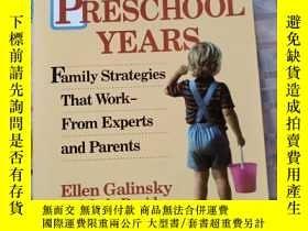 二手書博民逛書店The罕見Preschool Years: Family StrategiesY214704 Ellen Ga