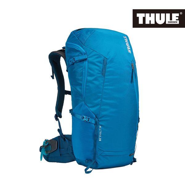 THULE-AllTrail系列35L男用登山包-藍