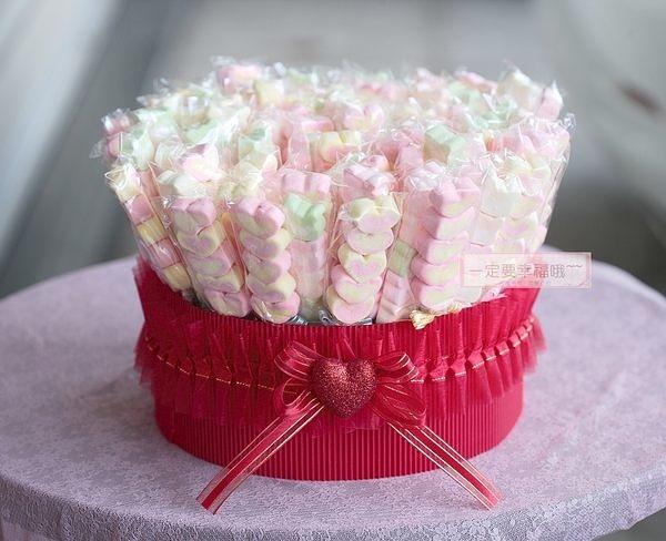 一定要幸福哦~~幸福花園棉花糖、婚禮小物、結婚宴客、二次進場