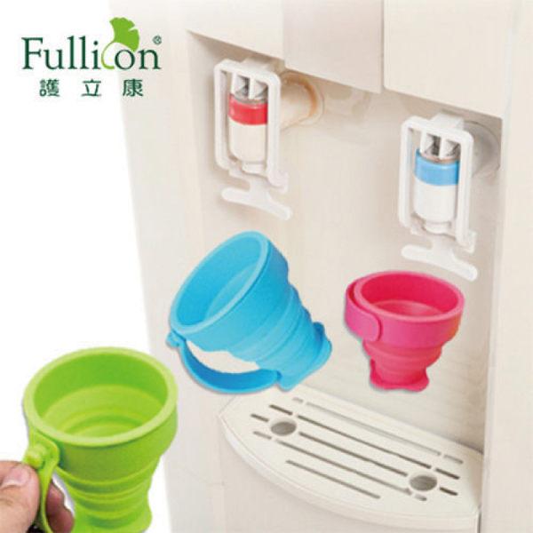 【金鶴健康休閒用品】隨身耐熱環保杯 輕巧伸縮 安全衛生食品級矽膠
