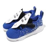 Nike 籃球鞋 LeBron XVII MTAA TDV 藍 白 童鞋 小童鞋 運動鞋 【PUMP306】 CT4139-400
