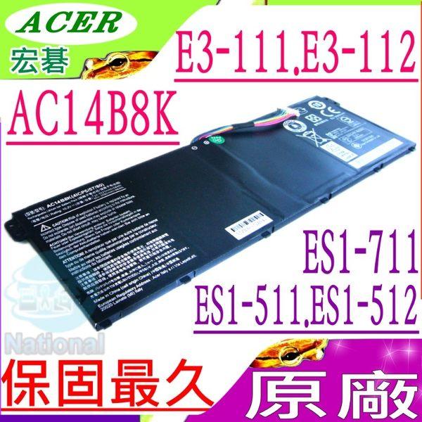 ACER 電池(原廠) AC14B8K,E3-111,E3-112M,E3-112,ES1-711-c0wj,ES1-711-c1lp,ES1-711-C1wa,ES1-711-c4mp,ES1-71..