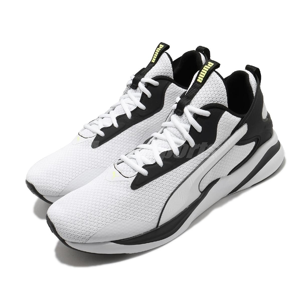Puma 慢跑鞋 Softride Rift Tech 白 黑 男鞋 輕量避震 運動鞋【ACS】 19373703