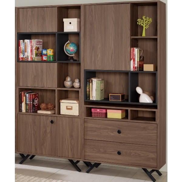 書櫃 書櫥 MK-872-23 約克5.4尺書櫥【大眾家居舘】