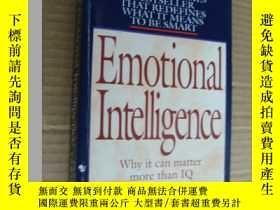 二手書博民逛書店Emotional罕見Intelligence:why it m