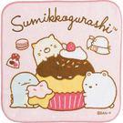 【角落生物小方巾】角落生物 小方巾 毛巾 棉質 蛋糕 日本正版 該該貝比日本精品 ☆