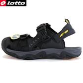 男款 LOTTO 護趾涼鞋防滑耐磨輕量軟Q 水陸車鞋 休閒運動護趾涼鞋 59鞋廊