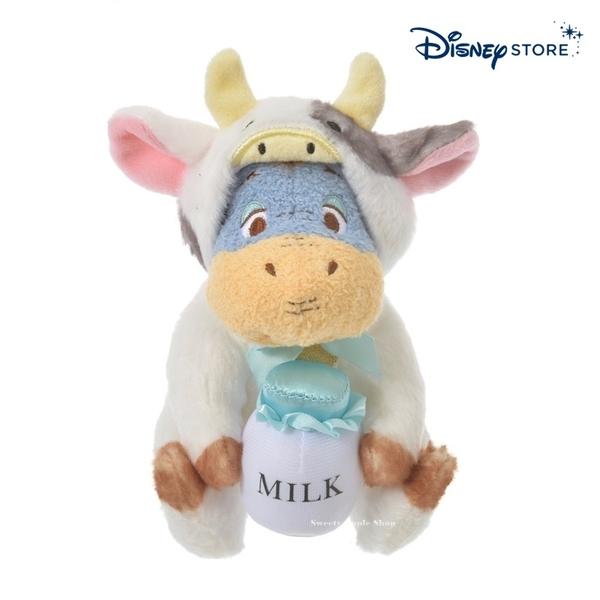 【SAS】日本限定 迪士尼商店 Disney Store 小熊維尼家族 新年牛年 生肖干支 屹耳 玩偶娃娃 16cm