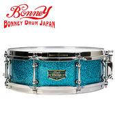 【敦煌樂器】BONNEY Bop SN1450DWS 日本手工小鼓 水波亮粉藍