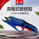 鋰電剪刀 東成電動剪刀果樹充電式DCYD...