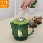 千式 出口耐熱冷水壺超大容量塑料涼水壺韓式家用帶蓋果汁壺扎壺【潮咖地帶】