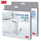 3M 淨呼吸空氣清淨除濕機HAF超微米濾網 RDH-Z80F- (2入超值組)