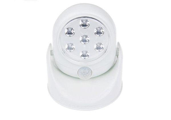 升級版人體感應燈Light angel 360度自動感應燈旋轉迷你LED感應燈 車庫燈自動感應人體 可調旋轉LED燈