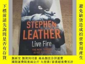 二手書博民逛書店Live罕見Fire (A Dan Shepherd Myste