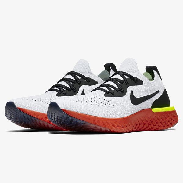 Nike Epic React Flyknit GS 女鞋 大童 慢跑 休閒 編織 避震 白【運動世界】 943311-103