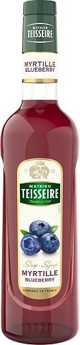 Teisseire 糖漿果露-藍莓風味 Blueberry Syrup 法國頂級天然糖漿 700ml-【良鎂咖啡精品館】