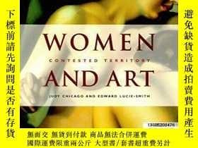 二手書博民逛書店【罕見】Women and Art: Contested Ter