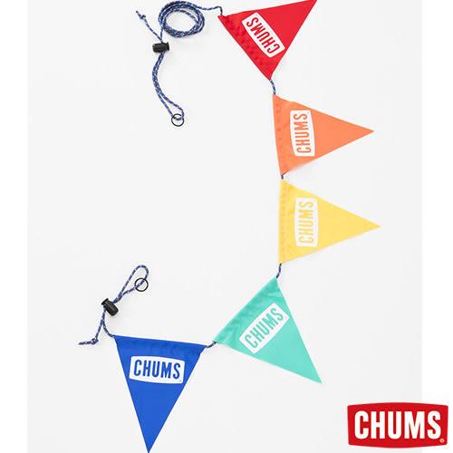 CHUMS 日本 露營三角彩旗 CHUMS LOGO CH621082Z050