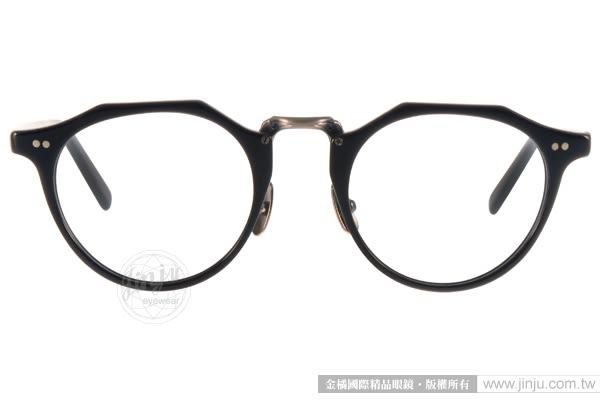 STANCEY RAMARS 光學眼鏡 SRM82 C06 (黑-銀) 日系工藝復古簡約款 # 金橘眼鏡
