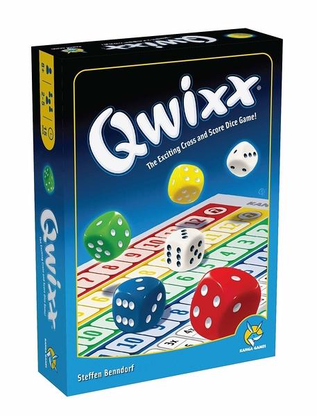 【KANGA GAMES】限量買一送一 快可思 Qwixx 家庭益智派對桌上遊戲