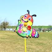 塑料薄片小風車串七彩幼兒園