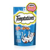 【寵物王國】Temptations喵愛餡 貓餡餅(開胃甜鮭口味)85g