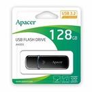 全新 Apacer AH355 128G USB3.2隨身碟黑 ( AP128GAH355B-1 )