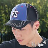 棒球帽子-防曬帽立體刺繡運動潮帽13SS-C055 FLY SPIN