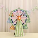 【韓風童品】摩天輪蛋糕架  旋轉蛋糕架 派對佈置  拍照背景   烘培咖啡屋佈置  現場佈置