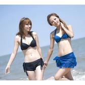 泳裝 比基尼 泳衣 性感簡約四件式溫泉泳衣【Zk11040819】 ENTER  03/30